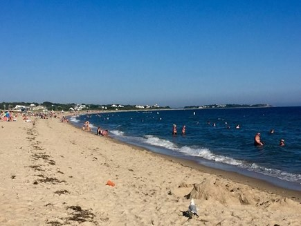 Hyannis Cape Cod vacation rental - Craigville  and Covells beaches are just a mile from the cottage.