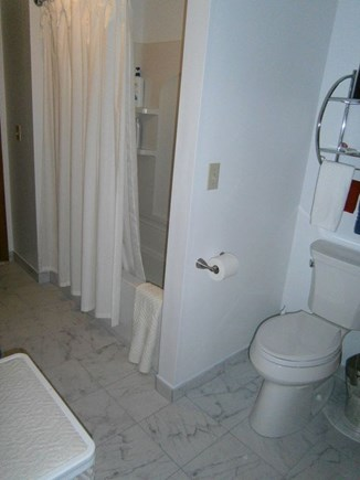 Hyannis Cape Cod vacation rental - New tub, flooring, toilet and sink/vanity with granite countertop