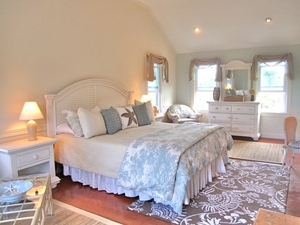 Brewster Cape Cod vacation rental - Master Bedroom with King Bed and walk-in closet