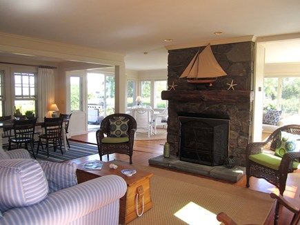 Brewster Cape Cod vacation rental - Dining and Living