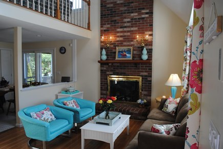 Falmouth, Maravista Cape Cod vacation rental - Open floor plan with views to well appointed eat in kitchen.