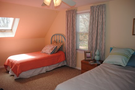 Falmouth, Maravista Cape Cod vacation rental - Master bedroom offers an additional twin bed.