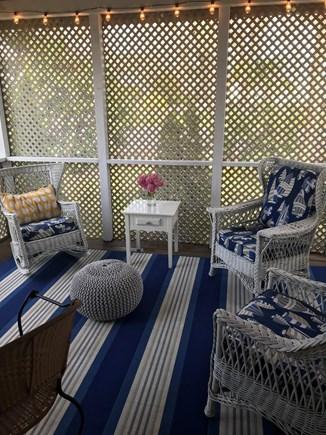 Falmouth, Maravista Cape Cod vacation rental - Screen porch ready to be enjoyed.