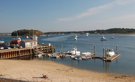 Onset MA vacation rental - Enjoy a Canal Cruise, a Fishing Boat or Sail Boat at the Pier.