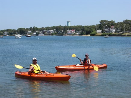 Onset MA vacation rental - Rent Kayaks at the pier and paddle away!
