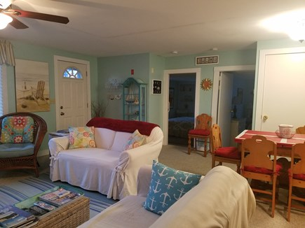 Onset MA vacation rental - Comfortable Living Room and Dining Area