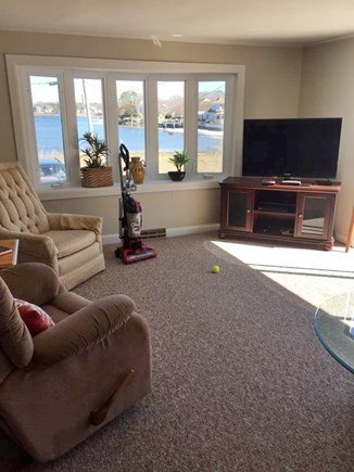 West Yarmouth on Lewis Bay Cape Cod vacation rental - Upper Living Room
