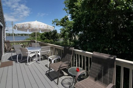 West Yarmouth on Lewis Bay Cape Cod vacation rental - The Deck