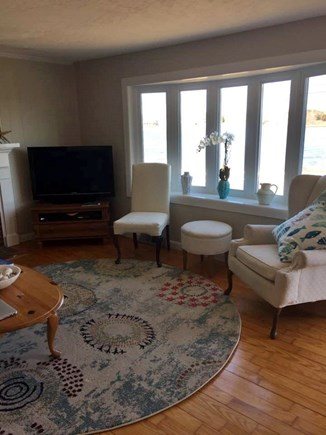 West Yarmouth on Lewis Bay Cape Cod vacation rental - Main Living Room