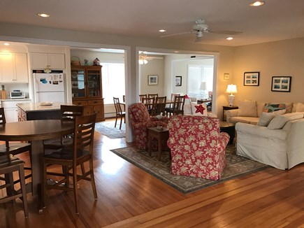 Chatham Cape Cod vacation rental - Open floor plan of the first floor