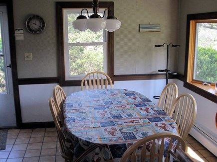North Eastham Cape Cod vacation rental - Dining Room seats 6
