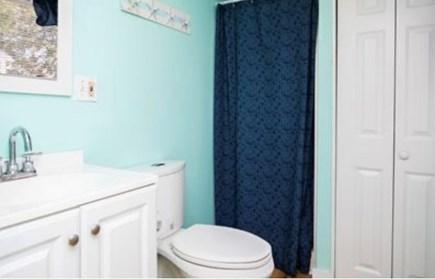 Dennis Port Cape Cod vacation rental - Bathroom upstairs at main house