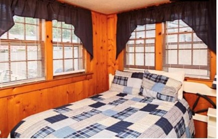 Dennis Port Cape Cod vacation rental - Bedroom at the cottage. Full bed