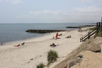 Dennis Port Cape Cod vacation rental - Haigis Beach just 60 steps away