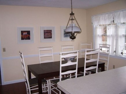 South Harwich Cape Cod vacation rental - Dining area