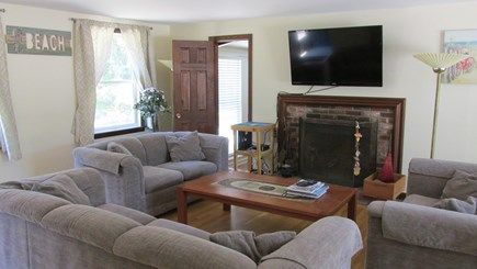 Eastham Cape Cod vacation rental - Living/TV area