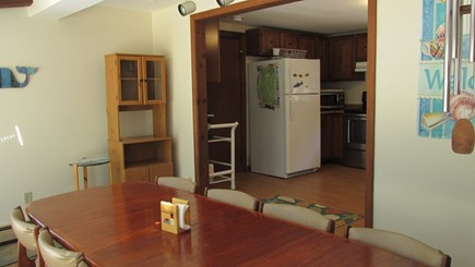 Eastham Cape Cod vacation rental - Kitchen view from Dining Area