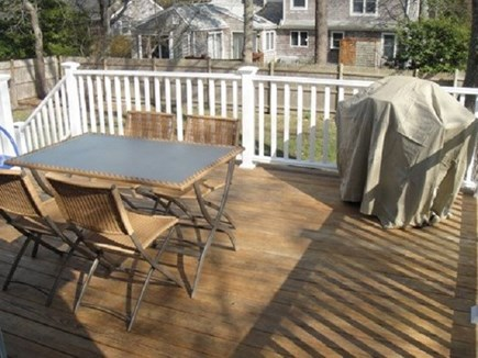 Centerville Centerville vacation rental - Deck!