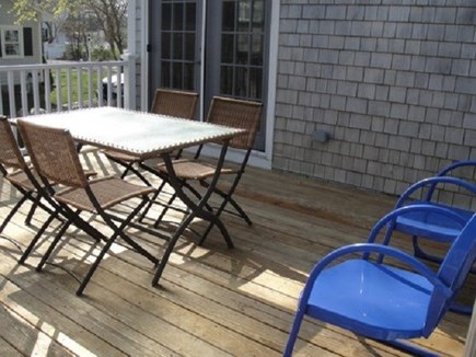 Centerville Centerville vacation rental - Large Deck with Gas Grill