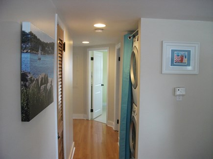 Centerville Centerville vacation rental - Laundry and Hallway to Bedrooms