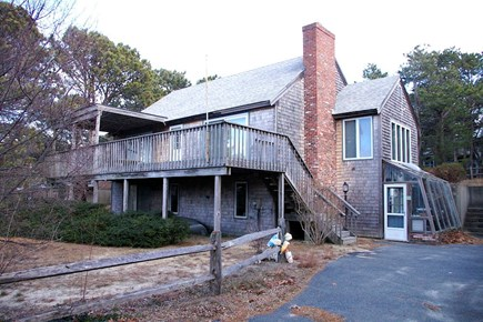 Eastham Cape Cod vacation rental - Great deck overlooking marsh and bay!