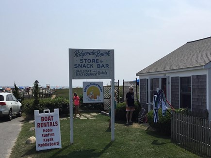 Chatham ,Ridgevale beach Cape Cod vacation rental - Ridgevale Beach Store & Snack Bar