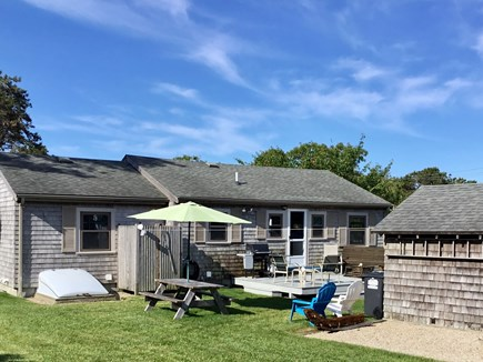 Chatham ,Ridgevale beach Cape Cod vacation rental - BackYard, Picnic, Deck, gas grill