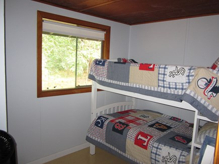 Eastham Cape Cod vacation rental - The back bedroom with bunks