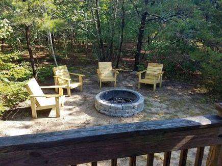 Eastham Cape Cod vacation rental - New firepit as of 2017