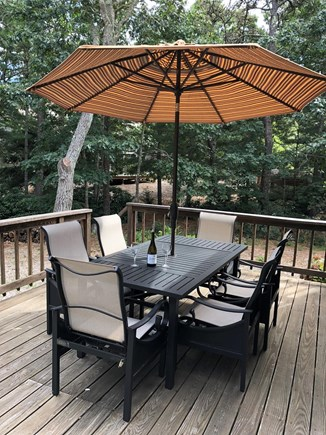 Eastham Cape Cod vacation rental - Deck dining or relaxing