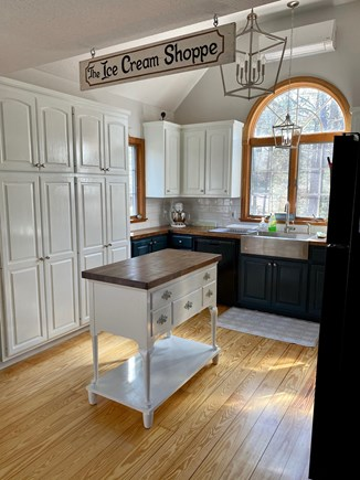 Eastham Cape Cod vacation rental - Sunny, open kitchen with vaulted ceiling, fully equipped.