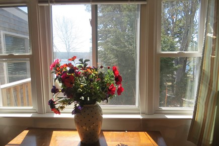 S Yarmouth Cape Cod vacation rental - View from the bedroom with queen bed