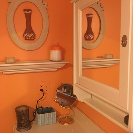S Yarmouth Cape Cod vacation rental - Bathroom with washer and dryer