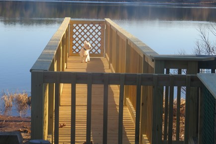 S Yarmouth Cape Cod vacation rental - Pier by the water enjoy the smell of the clam flats
