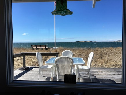 Wellfleet Cape Cod vacation rental - A look out the front window