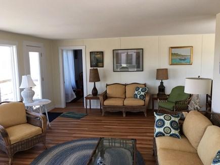 Wellfleet Cape Cod vacation rental - Living area looking north
