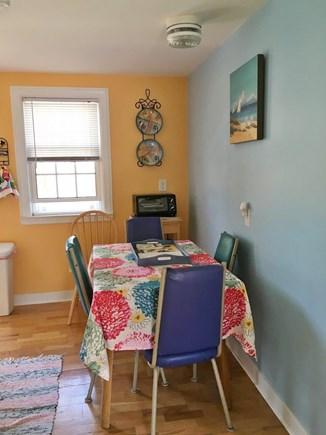 Dennisport Cape Cod vacation rental - Dining area.