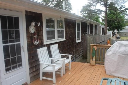 Dennisport Cape Cod vacation rental - Enclosed outdoor shower