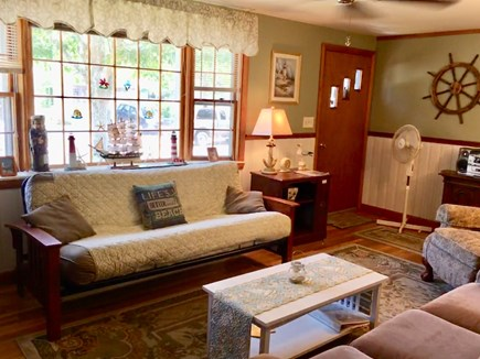 Dennisport Cape Cod vacation rental - Entrance and living room