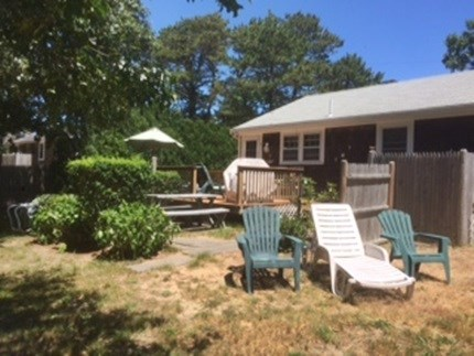 Dennisport Cape Cod vacation rental - Lots of lounging on patio, deck or yard