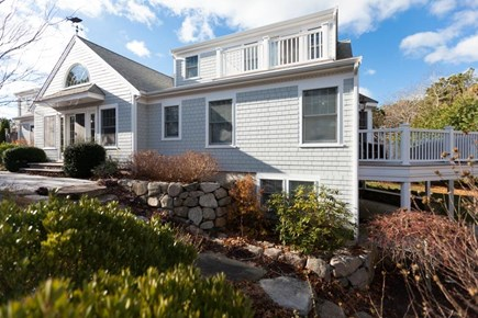 Chatham Cape Cod vacation rental - The charming exterior of 37 Stepping Stones.