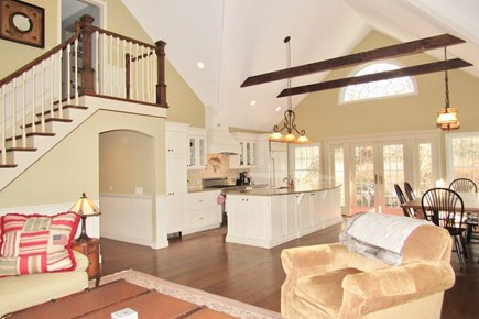 Chatham Cape Cod vacation rental - Featuring Cathedral ceilings, the great room is this home's heart