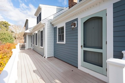 Chatham Cape Cod vacation rental - The unassuming front door belies the luxury within.