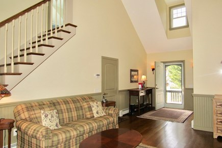Chatham Cape Cod vacation rental - The grand entry way with sitting area.