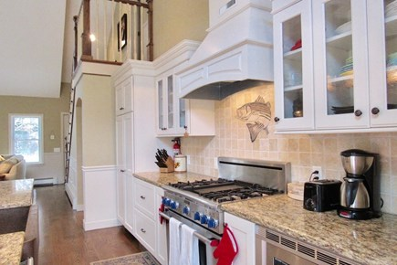 Chatham Cape Cod vacation rental - The well stocked, gourmet kitchen with expansive island.