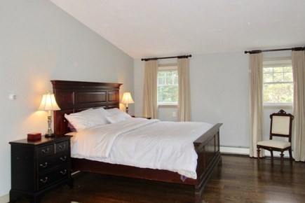 Chatham Cape Cod vacation rental - The master bedroom with Juliet balcony.