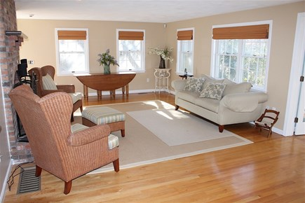 Harwich Cape Cod vacation rental - Living room with plenty of lounge seating.