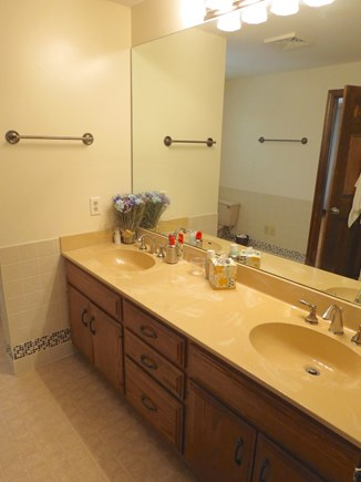Harwich Cape Cod vacation rental - Full bath up.  MBR has full bath en suite.
