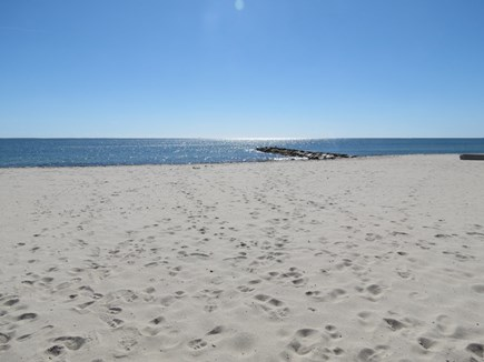 Harwich Cape Cod vacation rental - Sparkling Red River Beach is a 5-7 minute walk from your door.