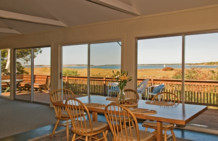 South Wellfleet Cape Cod vacation rental - View of Bay and Great Island from dining room